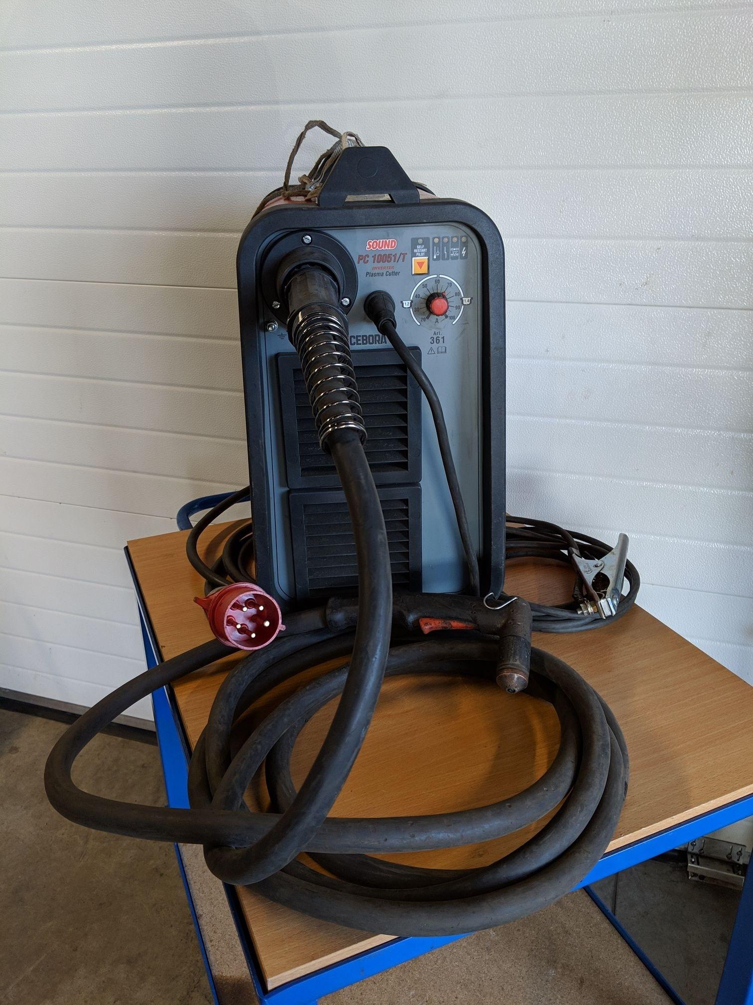 Plasmalõikur Cebora pc 10051/T põleti PC161 rent RCEBORA
