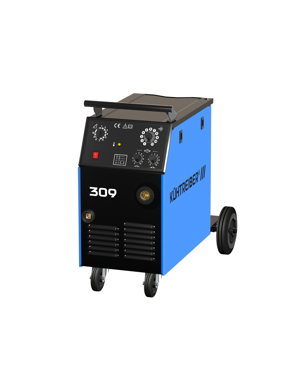 Keevitusaparaat KIT309 MIG/MAG 200A 60% 4rulli 50876