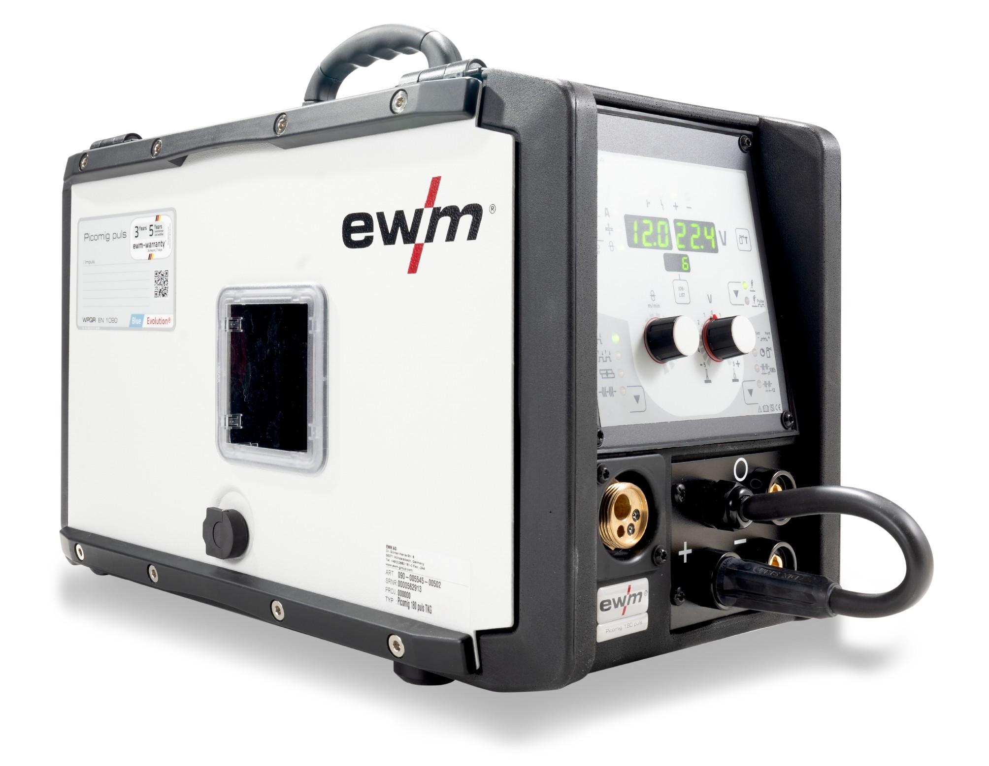 Keevitusaparaat PICOMIG 180 PULS tarvikutega EWM 092-002622-00502