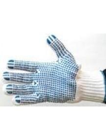 Sõrmik kootud , PVC punktidega 2-p. (4355) (44-001)