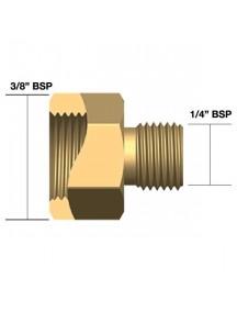 """Adapter TIG 1/4"""" BSP isa x 3/8"""" BSP ema 608382"""