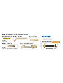 Gaasilõikekomplekt prop.19-6 Harris tüüpi 19-6SET