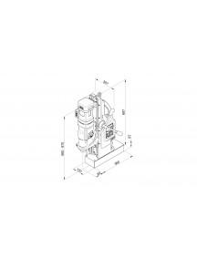 Magnetpuur MAB485,12-40mm,MK2 keermestusM8-16 BDS