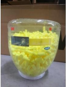 3M kõrvatropid Earsoft neoon, SNR 36dB täitepakk (plastpurk)