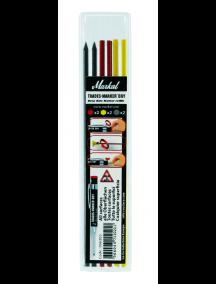 Südamikud (2X-graf.;kol.; pun.) Trades-Marker Dry pliiatsile 096263