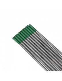 Volframelektrood 2,4/175mm WP 100%W rohel.