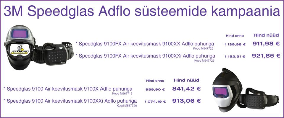 3M Speedglas Adflo süsteemide kampaania