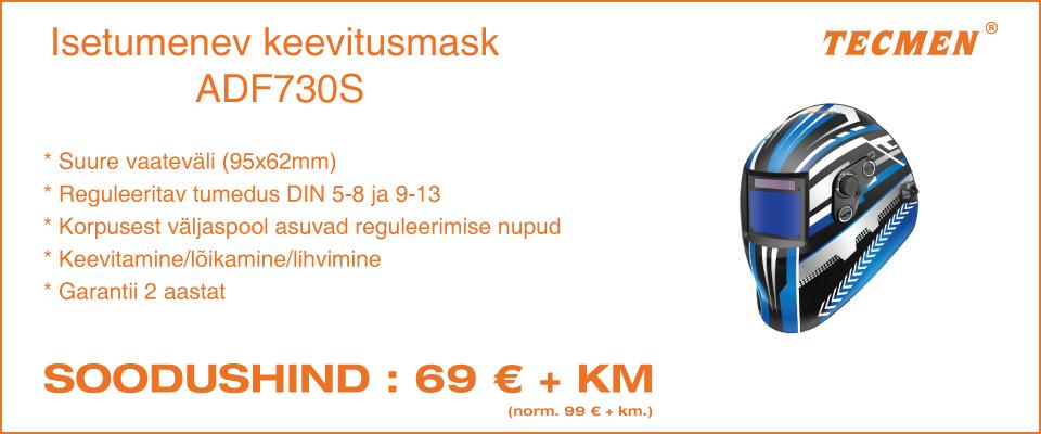 TECMEN ADF730S isetumenev keevitusmask