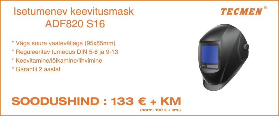 TECMEN ADF820 S16 isetumenev keevitusmask